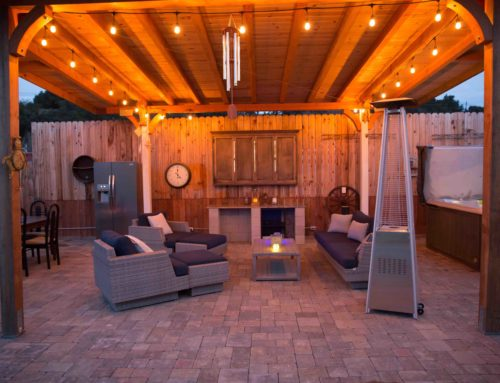 Solvang Ranch Pool Deck and Patio Pavers